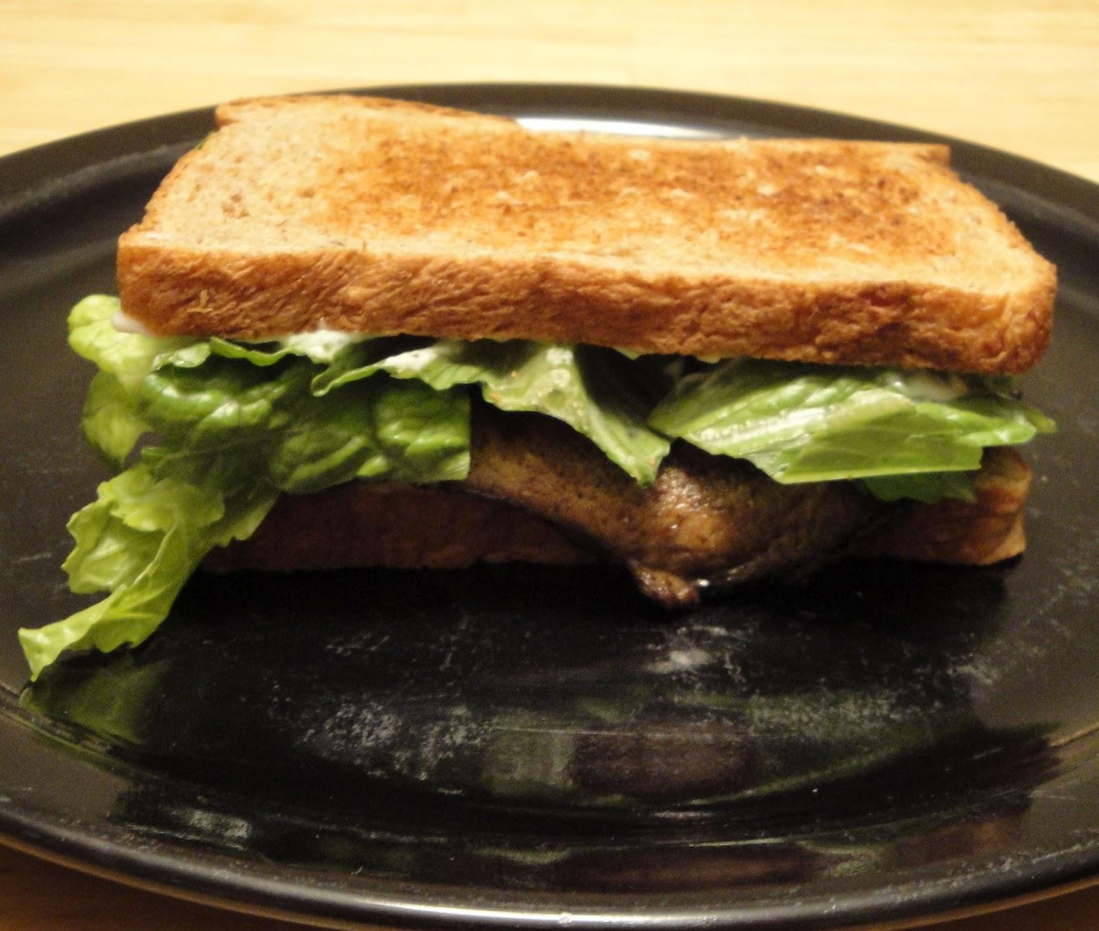 Christine's Pantry: Portabella Mushroom Burger