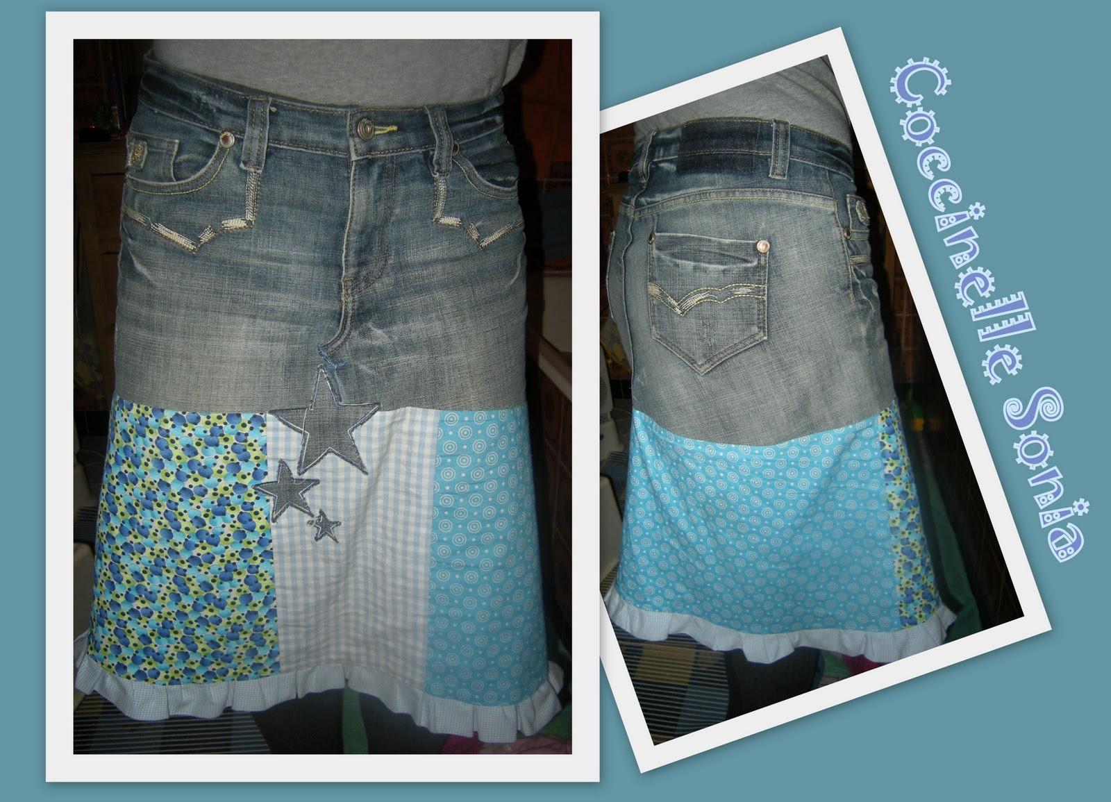 Coccinelle sonia recycling - Que faire avec un vieux jean ...