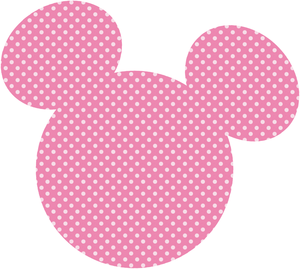 Mickey Minnie Mouse Head Template