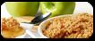 Crumble de manzana
