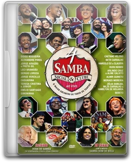 Download Samba Social Clube Vol. 4 - DVD-R