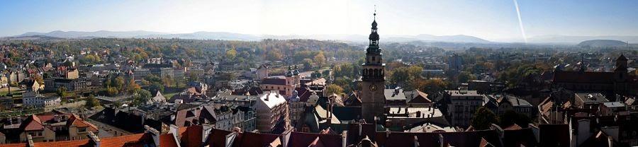 Kłodzko panorama (fot. Jakub Zasina)