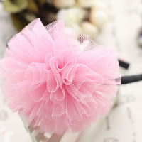 Pink Lancy hairband -- HA709 Price:RM18 per pc