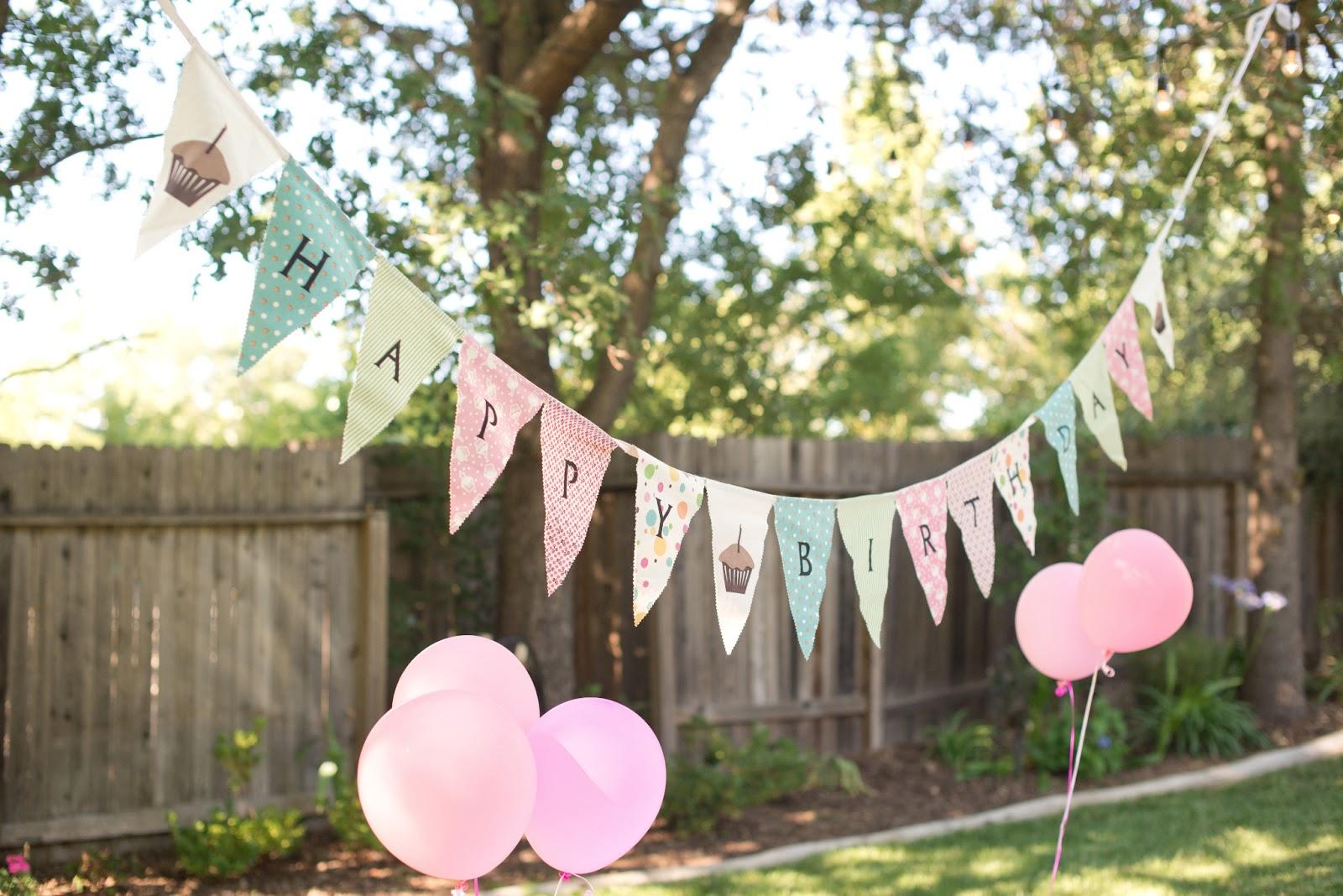 domestic fashionista backyard birthday fun pink hydrangeas