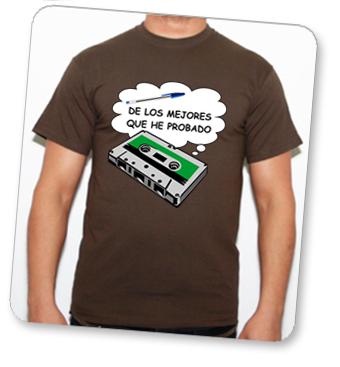 camiseta cassette en tuestilo.net
