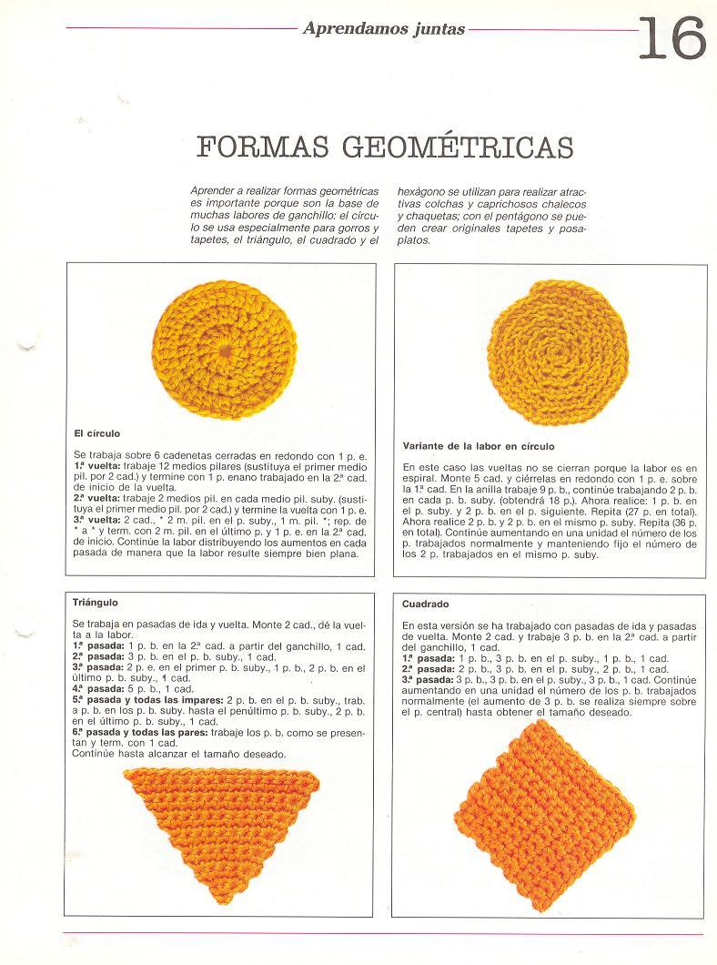 patrones asgaya: FORMAS GEOMÉTRICAS A CROCHET