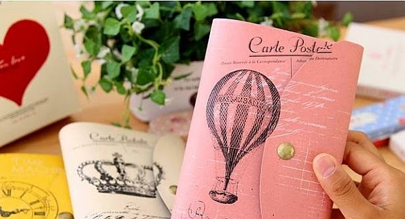 Selling: Carte Postal Journal / Planner / Diary