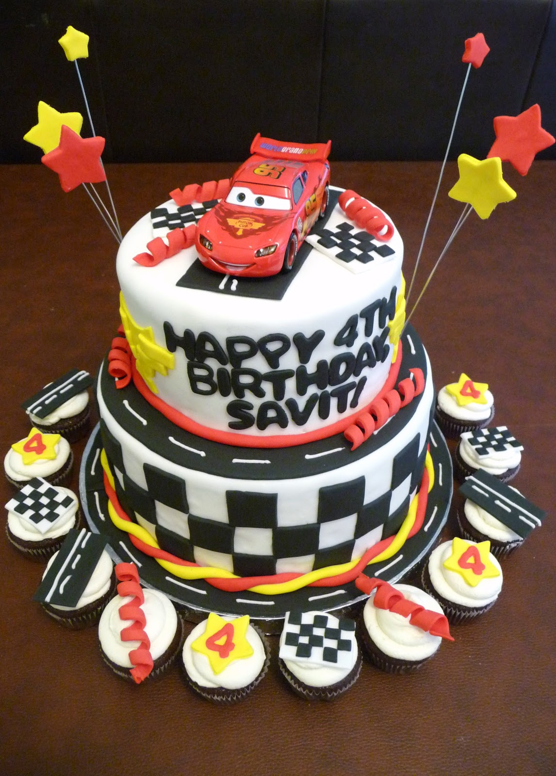 Image Cars 2 Birthday Cake Download