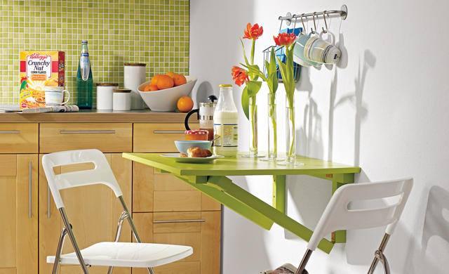 Как сделать откидной стол на кухню