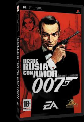 James Bond – Desde Rusia Con Amor [Español] [CSO] [PSP] [UL]