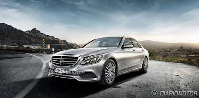 Novo Mercedes Classe C Frente