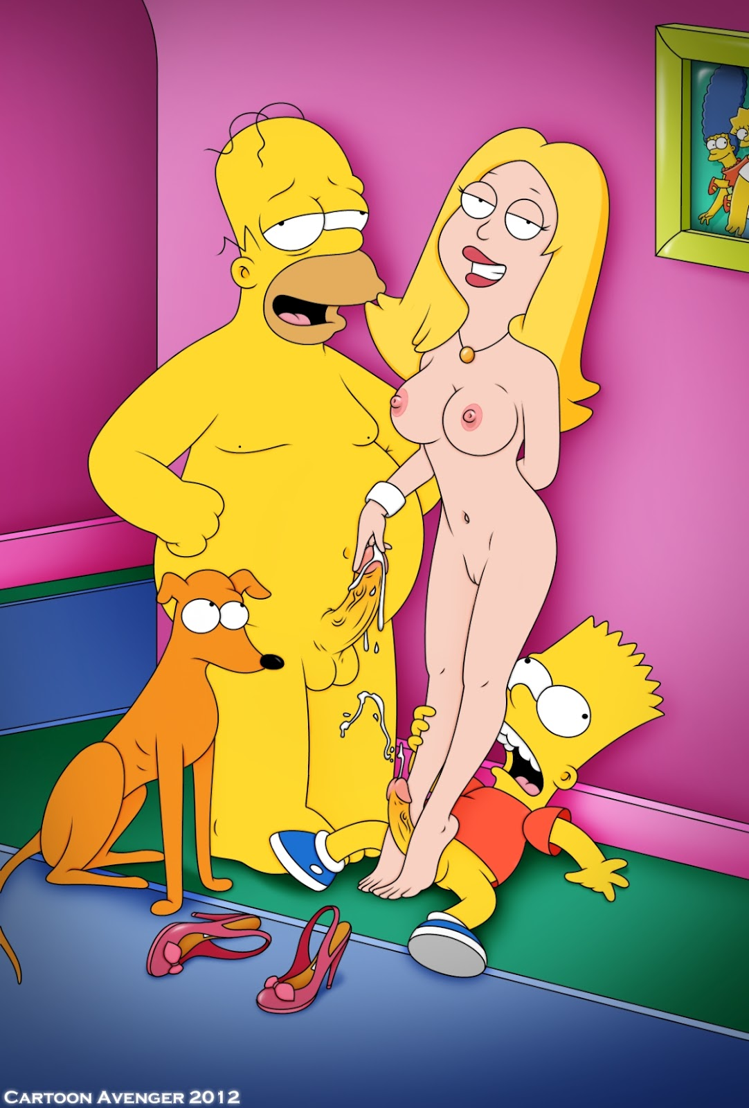 fotos cartoon porno: