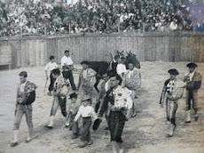 Toros en Tineo 1952