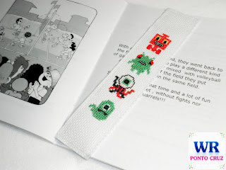 Markers children's book cross stitch