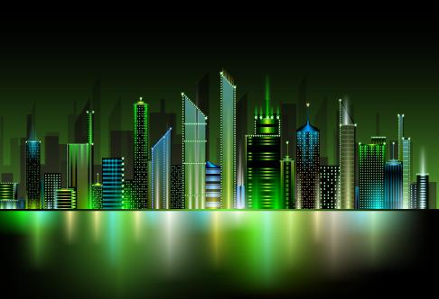 gran ciudad - vector