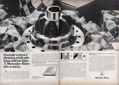 propaganda Mercedes-Benz - 1979.  Mercedes-Benz Ad - 1979