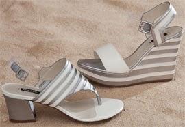 Arezzo verão 2014 sandálias de couro e sandália de plataforma