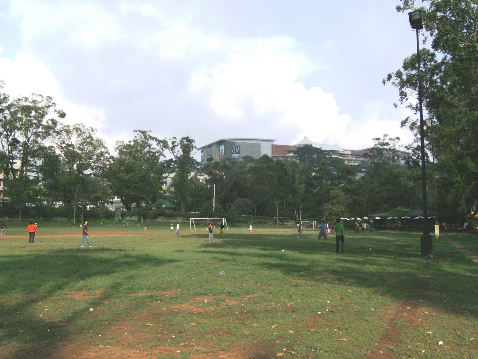 burnham park is one of the tourist spots in baguio city there are