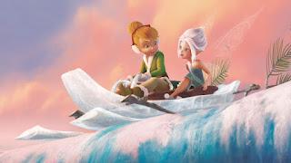 Gambar kartun TinkerBell dan PeriWinkle gratis