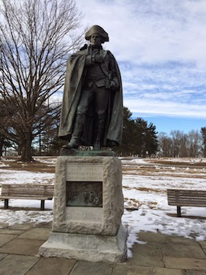 Chuck and Lori's Travel Blog - Statue of Major General Friedrich Wilhelm