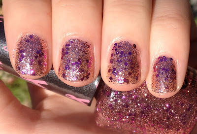 OPI You Glitter Be Good to Me opi pink of hearts 2012