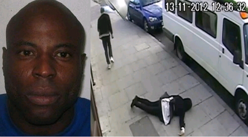 nigerian man punched women in london
