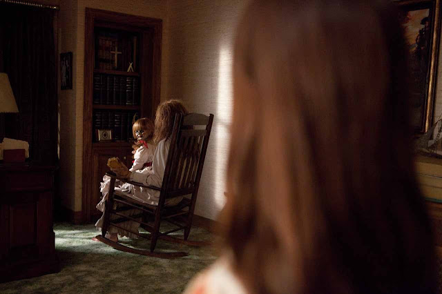 The Conjuring - Creepy Doll Cameo | A Constantly Racing Mind