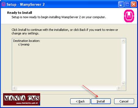 Cara Menginstal Wamp server pada Komputer | Mania CMS