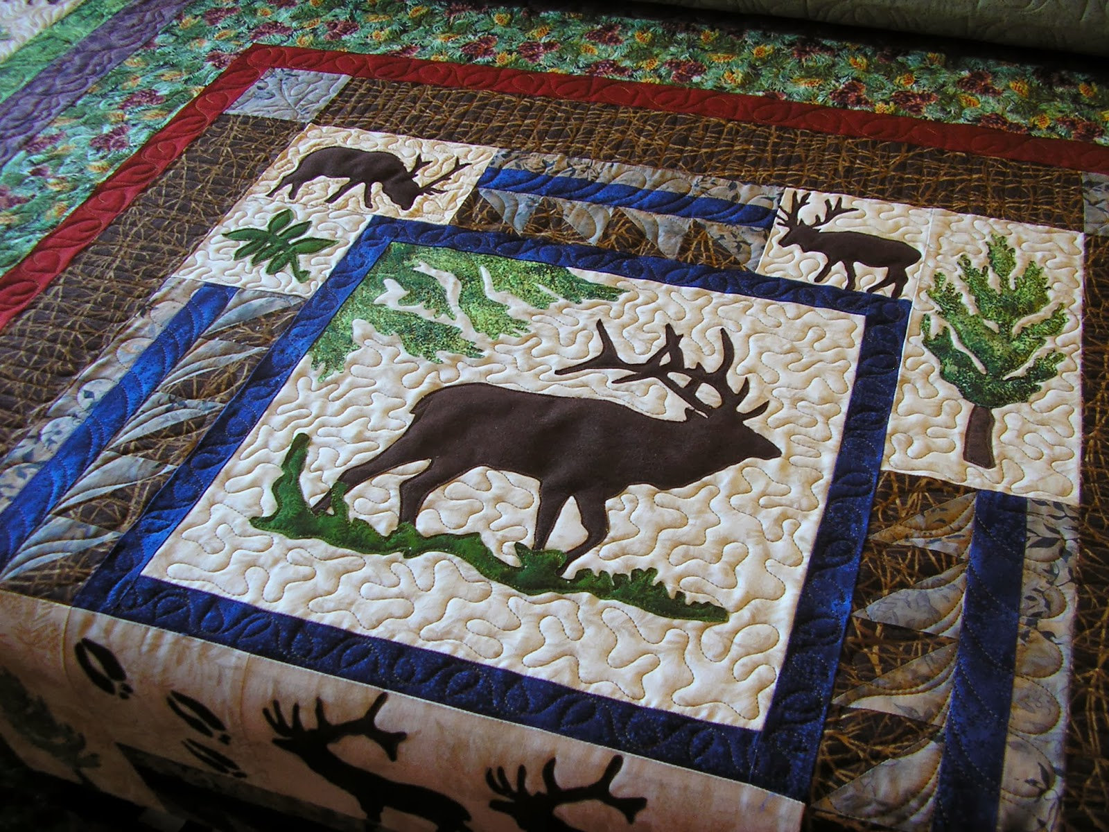 Creative Quilting by Debbie Stanton: The Lure of Woodland Quilts : woodlands quilt guild - Adamdwight.com