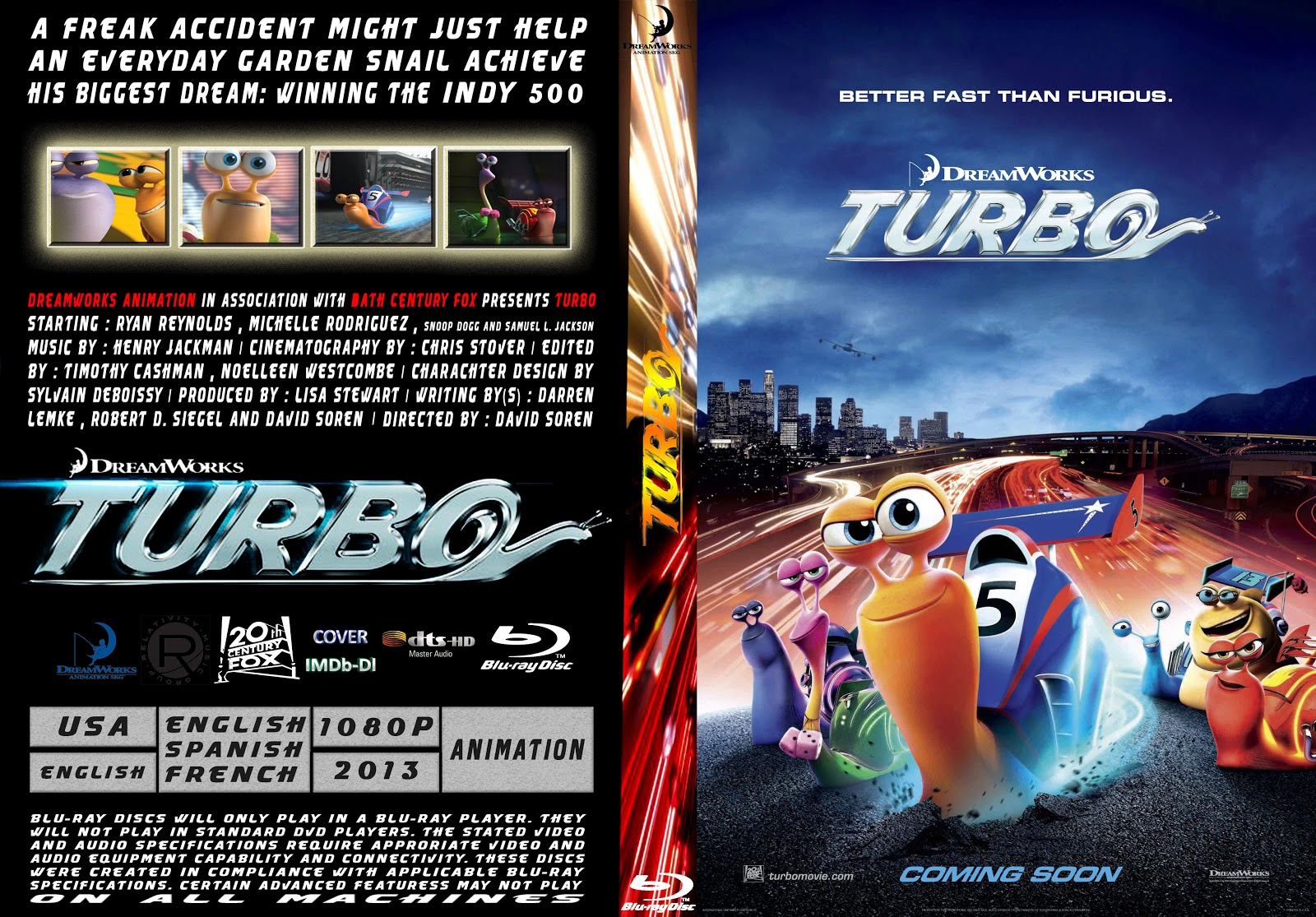 vagebond's movie screenshots: turbo (2013)