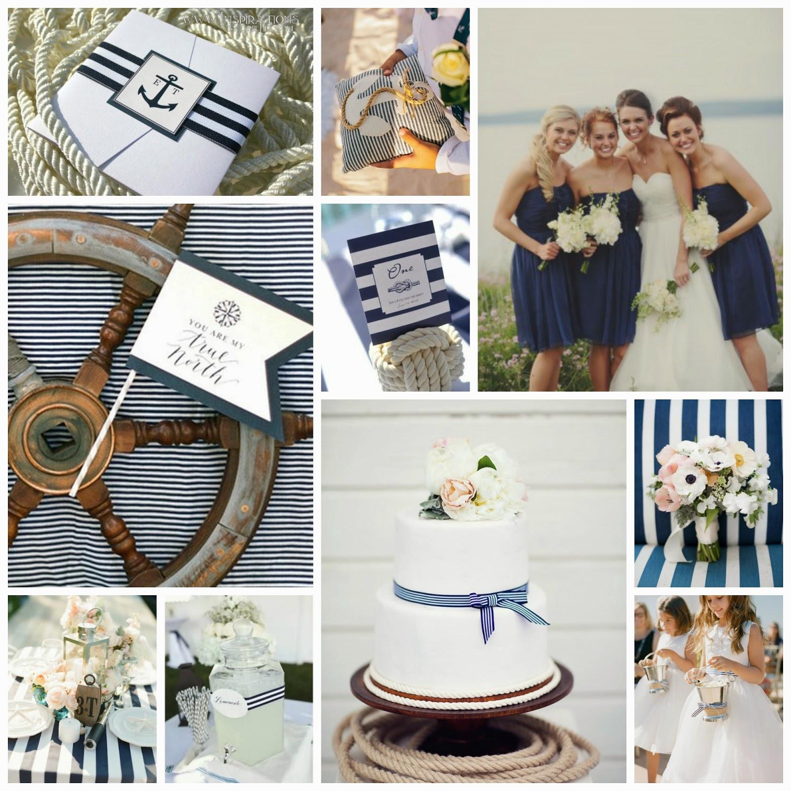 Nautical Wedding Inspiration Board | White Washed Comfort