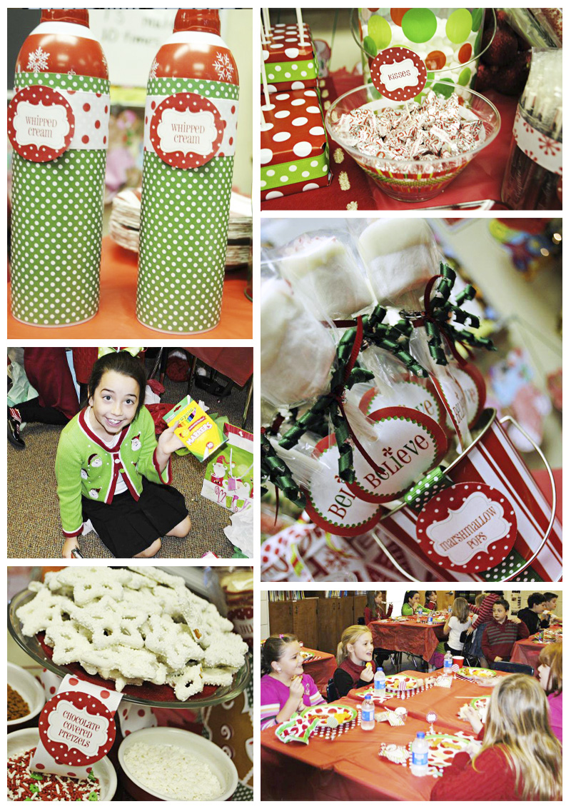 Classroom Decoration Ideas For Party ~ Classroom christmas party decorating ideas photograph clas