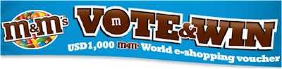 M&M's 'Vote & Win' Contest