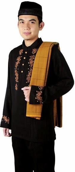Gambar model baju muslim remaja putra terbaru 6