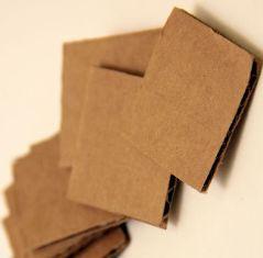 Pembuatan Cardboard Spring / Per Kardus