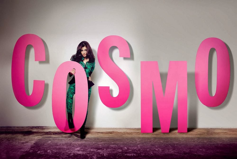 Magazine Photoshoot : Shruti Haasan Photoshot For Cosmopolitan Magazine India January 2014 Issue