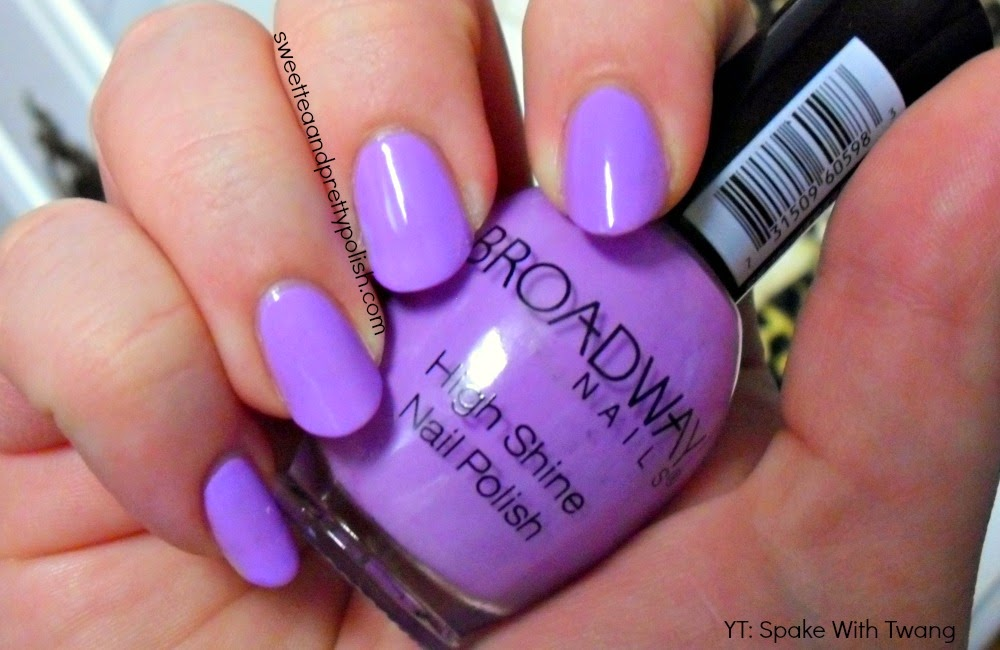 Jenn Swt: Nails of the Day: Broadway Nails in Easter Annie