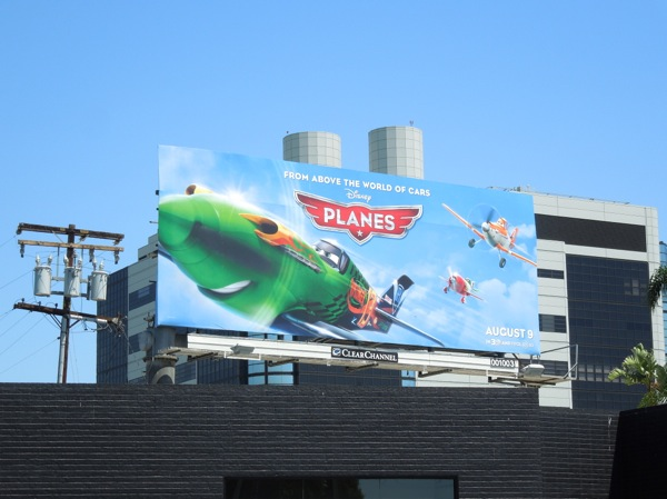 Disney Planes film billboard