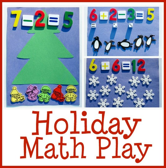 holiday and christmas math