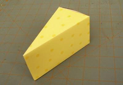 Cajas de regalo en forma de pastel
