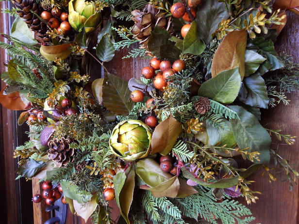 Nature Inspired Christmas Wreath