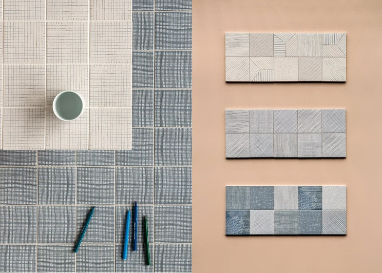 Patroontegels Inspiratie Grafisch : Afgestoft: inga sempé mix & match tegels