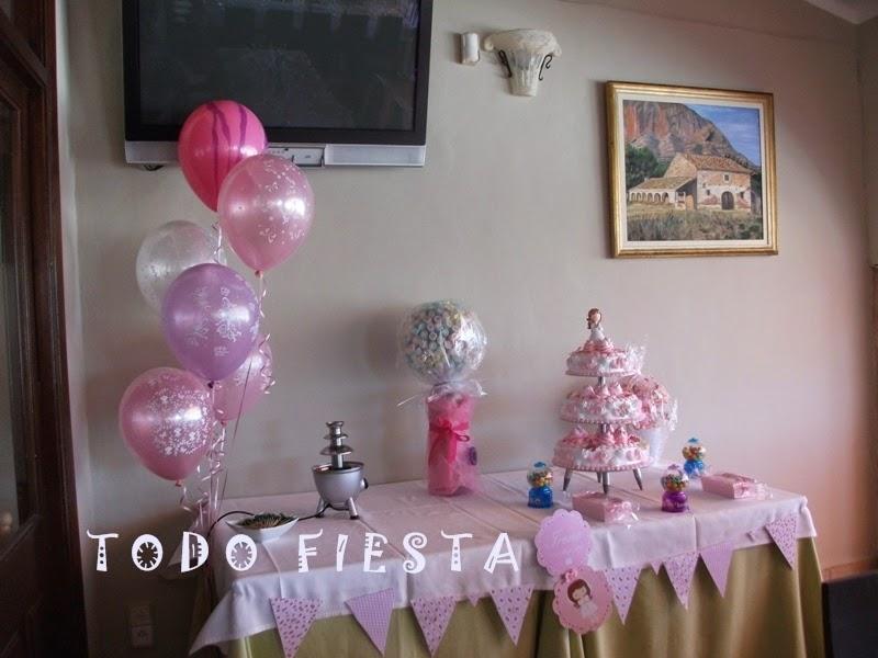 Decoraci n con globos de todo fiesta decoraciones para 1 for Decoracion con globos precios