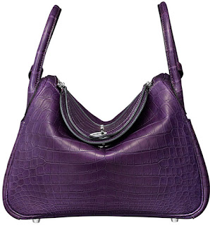 e06c1d2357b HERMES LINDY BAG IN NILOTICUS CROCODILE. One of the ...
