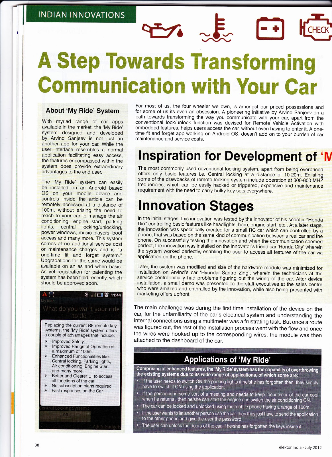 Arvind Sanjeev Projects And Work Hyundai Santro Xing Wiring Diagram Saturday 14 July 2012