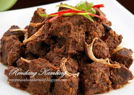 Aneka Resep Masakan Daging Kambing Enak