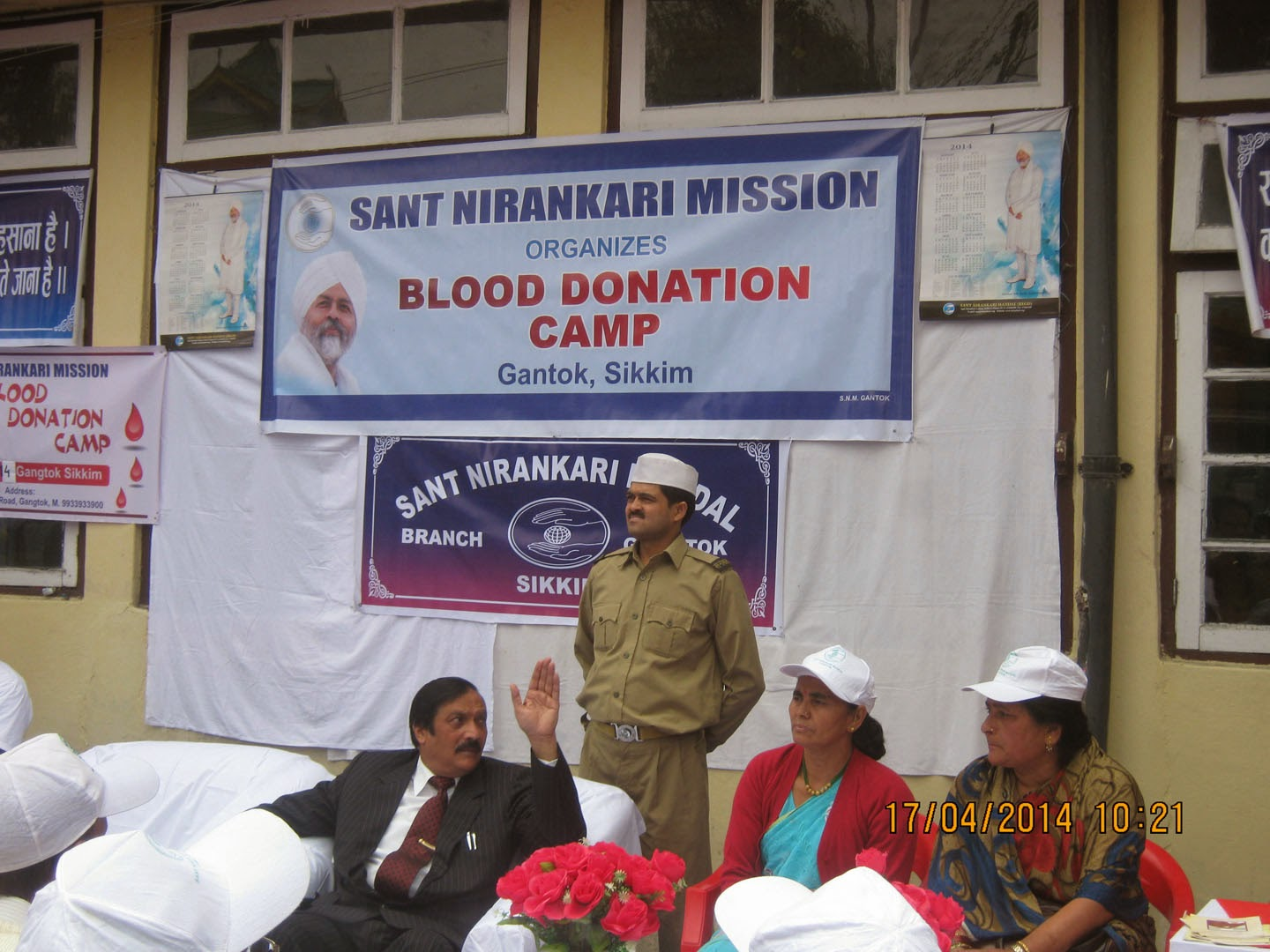 sikkim now sant n karis of gangtok donate blood blood donation jpg