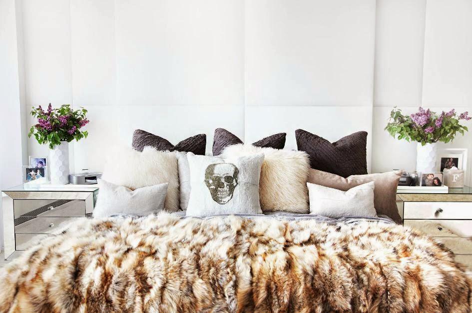 Edgy bedroom