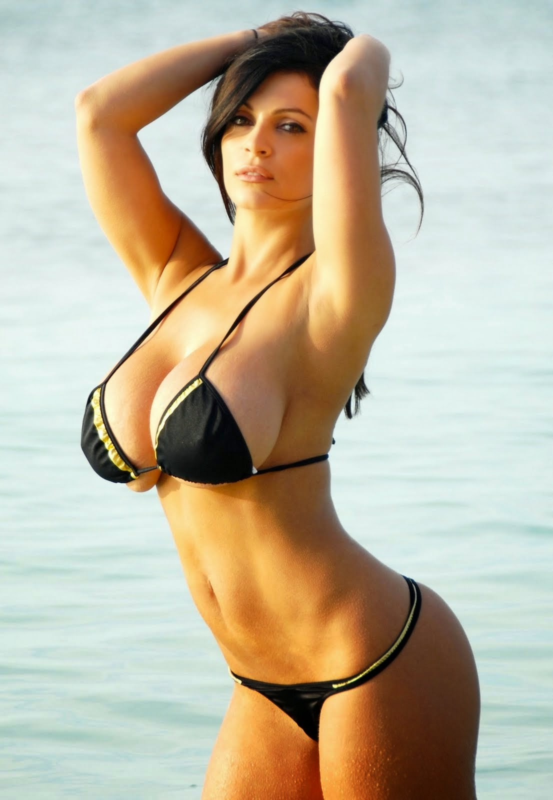 Denise Milani Biggest Best Boob Pic l Hot Boobs Of Denise Milani l ...