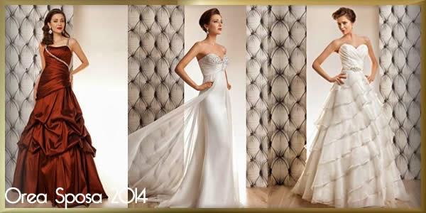 Orea Sposa 2014, des robes d'un style délicat et sensuel...
